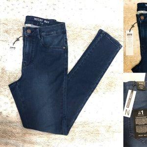 NWT Noisy May Lexi High Waist Skinny Jeans SZ S